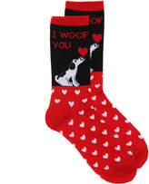 K. Bell Woof You Crew Socks - Women's