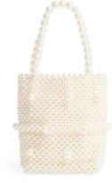 Rachel Parcell Mini Beaded Top Handle Bag