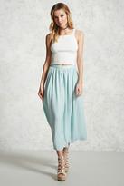 Forever 21 Shirred Maxi Skirt