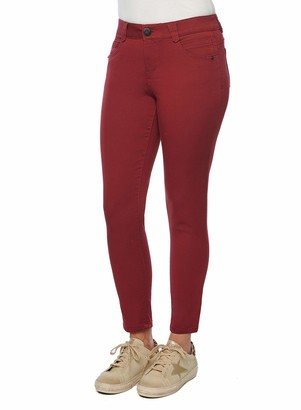 Democracy Women's Ab Solution Ankle Length Twill Pant