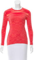 Michael Kors Cashmere Patterned Top