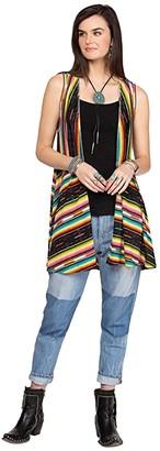 Double D Ranchwear Bakersfield Serape Vest (Multi) Women's Vest