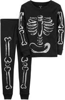 Carter's Baby Unisex Skeleton Pajama Set