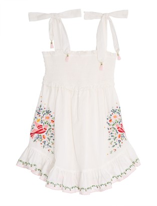 Zimmermann Carnaby Embroidered Dress