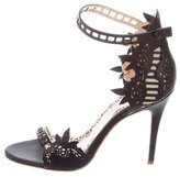 Marchesa Margaret Laser Cut Sandals
