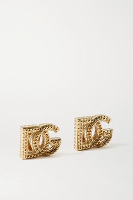 Dolce & Gabbana Gold-tone Clip Earrings - one size