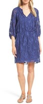 Nordstrom Women's Clipped Floral Jacquard Dress