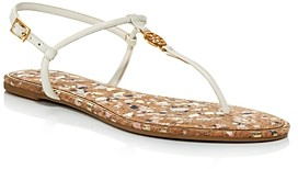 Tory Burch Women's Emmy T-Strap Flat Sandals