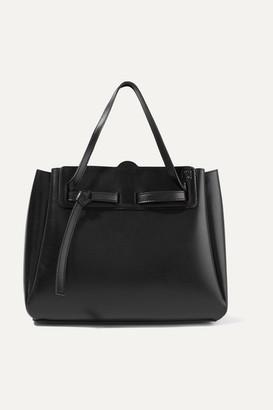 Loewe Lazo Large Leather Tote - Black