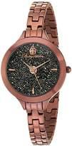 Burgmeister Women's BM536-095 Analog Display Analog Quartz Brown Watch