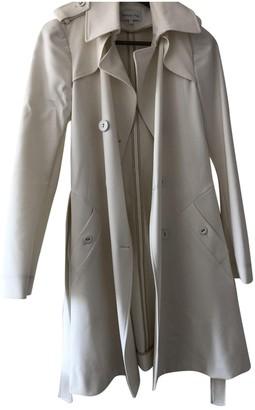 Patrizia Pepe White Trench Coat for Women