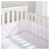 BreathableBaby ; Ultra Luxe Embroiderd Mesh Crib Liner