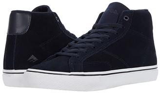 Emerica Omen Hi (Black/White/Gold) Men's Skate Shoes