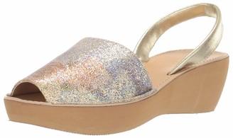 Kenneth Cole Reaction Women's Slingback Open Toe Platform Wedge Sandal