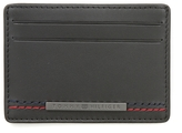 Tommy Hilfiger Leather Stitch Card Holder