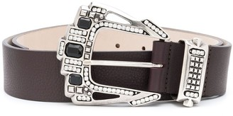 B-Low the Belt Royce embellished leather belt