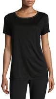 St. John Solid Crewneck T-Shirt