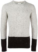 Paolo Pecora cable knit jumper