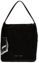 Proenza Schouler Medium Tote Nubuck in Black.