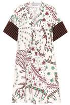 Valentino Mixed Print cotton dress