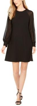 Calvin Klein Illusion-Sleeve Dress
