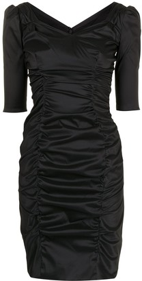 Dolce & Gabbana Pre-Owned Ruched Fitted Dress