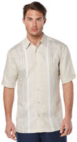 Cubavera Short Sleeve Engineered Space Dye Shirt