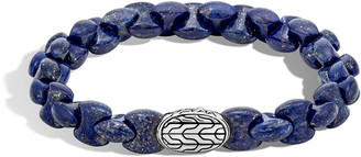 John Hardy Men's Batu Classic Chain Bracelet with Lapis