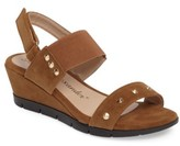 Athena Alexander Women's Pennye Studded Wedge Sandal