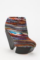 Senso Delilah Rainbow-Stripe Woolen Ankle Boot