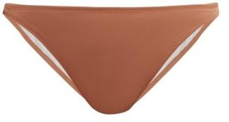 Solid & Striped Tati High-leg Bikini Briefs - Womens - Brown