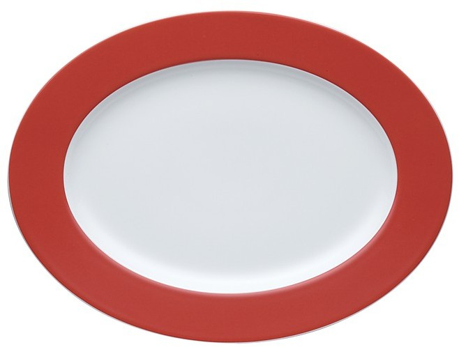 "Thomas for Rosenthal Sunny Day"" Oval Platter"