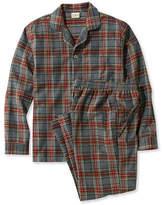 L.L. Bean Scotch Plaid Flannel Pajamas
