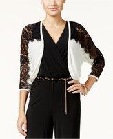 Thalia Sodi Lace Illusion Shrug, Only at Macy's