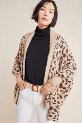 Anthropologie Louise Leopard Wrap By in Beige Size ALL