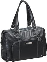 Clark & Mayfield Women's Morrison Leather Laptop Handbag 18.4