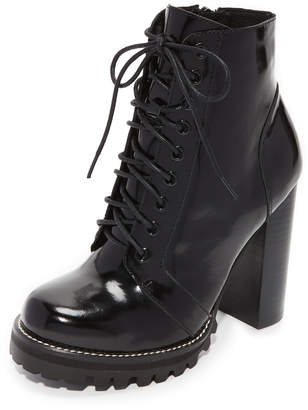 Jeffrey Campbell Legion Lace Up High Heel Booties