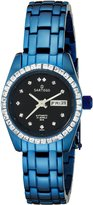 Sartego Women's SLGU73 Classic Analog Face Dial Blue Swarovski Watch