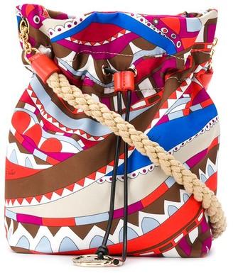 Emilio Pucci Burle print crossbody bag