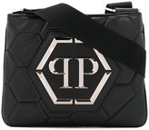 Philipp Plein logo messenger bag