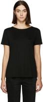 Helmut Lang - T-shirt noir Back Tie