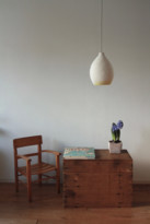 Lumalano LumaLano - D20cm Merino Wool Little Bela Lamp - wool | yellow - Yellow/White/White