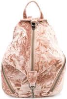 Rebecca Minkoff velvet zip backpack