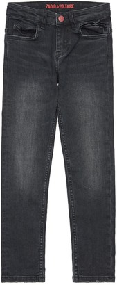 Zadig & Voltaire Slim Stretch Cotton Denim Jeans