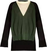 Toga Layered V-neck sweater