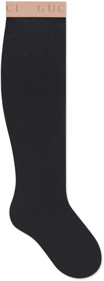 Gucci Logo Cuff Nylon Socks