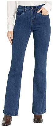 FDJ French Dressing Jeans Olivia Flare Leg with Medium Flare in Denim (Denim) Women's Jeans