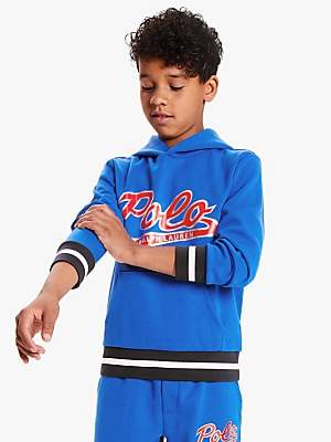 Ralph Lauren Polo Boys' Tech Hoodie, Blue