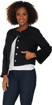 Belle By Kim Gravel Belle by Kim Gravel Stretch Twill Jacket with Bell Sleeves