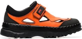 Camper Lab X Kiko Kostadinov orange velcro strap sneakers